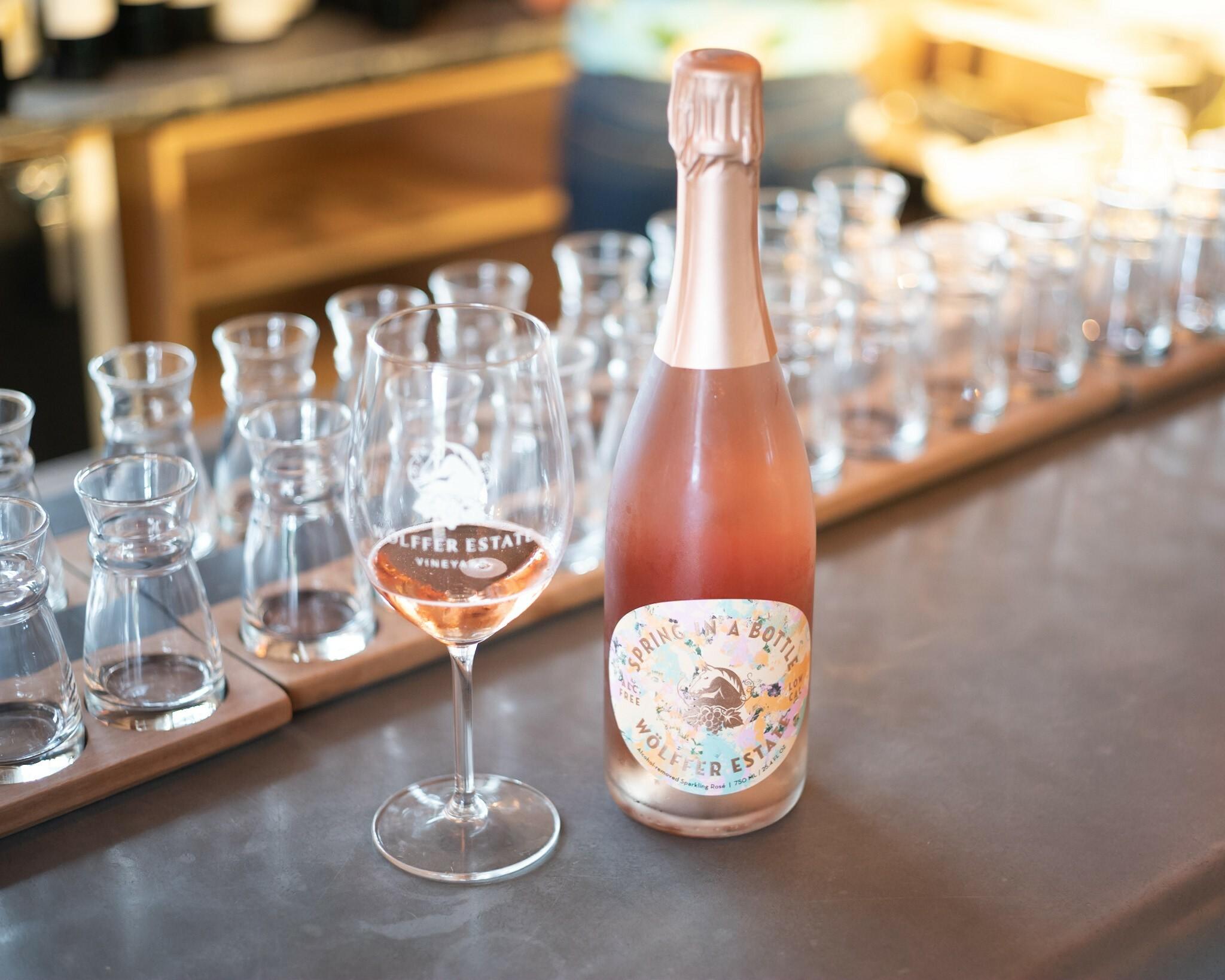 Spring in a Bottle at Wölffer Estate Vineyard.