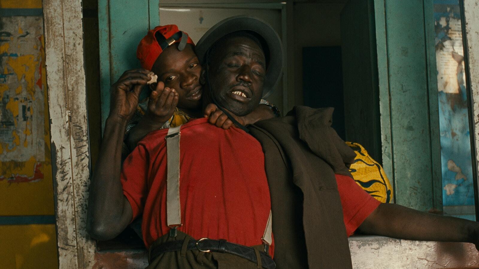 "A scene from Djibril Diop Mambéty's 1994 film ""Le Franc."""