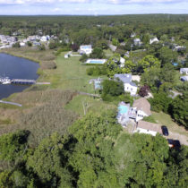 The Town of Southampton may buy the property adjacent to the woodlands  on East Tiana Road in Hampton Bays.