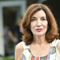 Governor Kathy Hochul at a fundraiser in Southampton in August. FILE PHOTO
