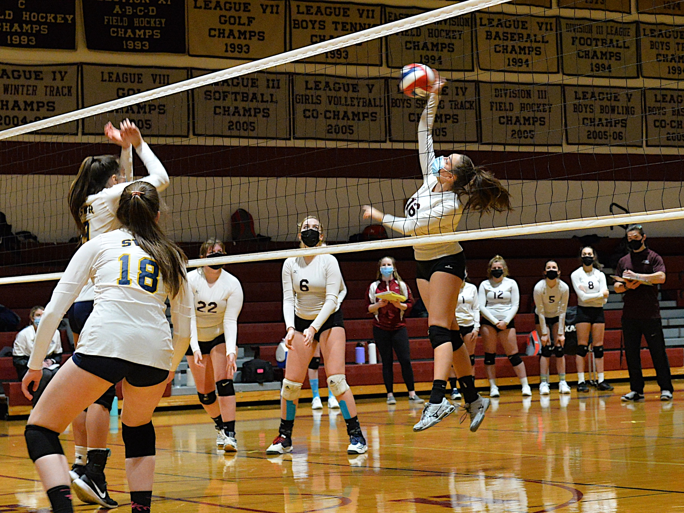 Sorell Miller returns for the East Hampton girls volleyball team this fall.