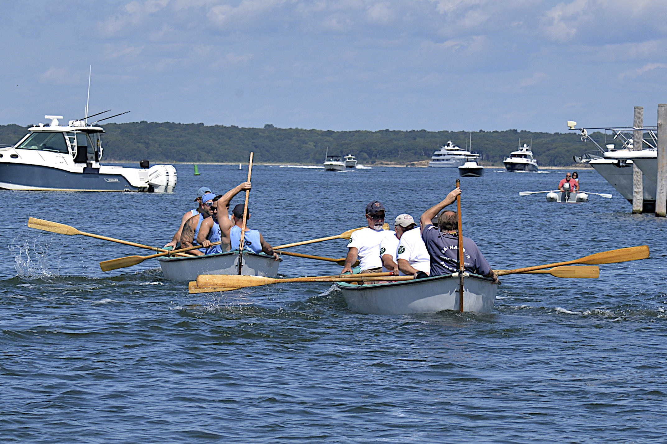 The Whaleboat Races at HarborFest on Saturday.  KYRIL BROMLEY