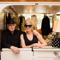 Deborah and Jack Ohana inside DeeJay's, the boutique clothing store that has been a fixture in Southampton Village for more than 40 years.