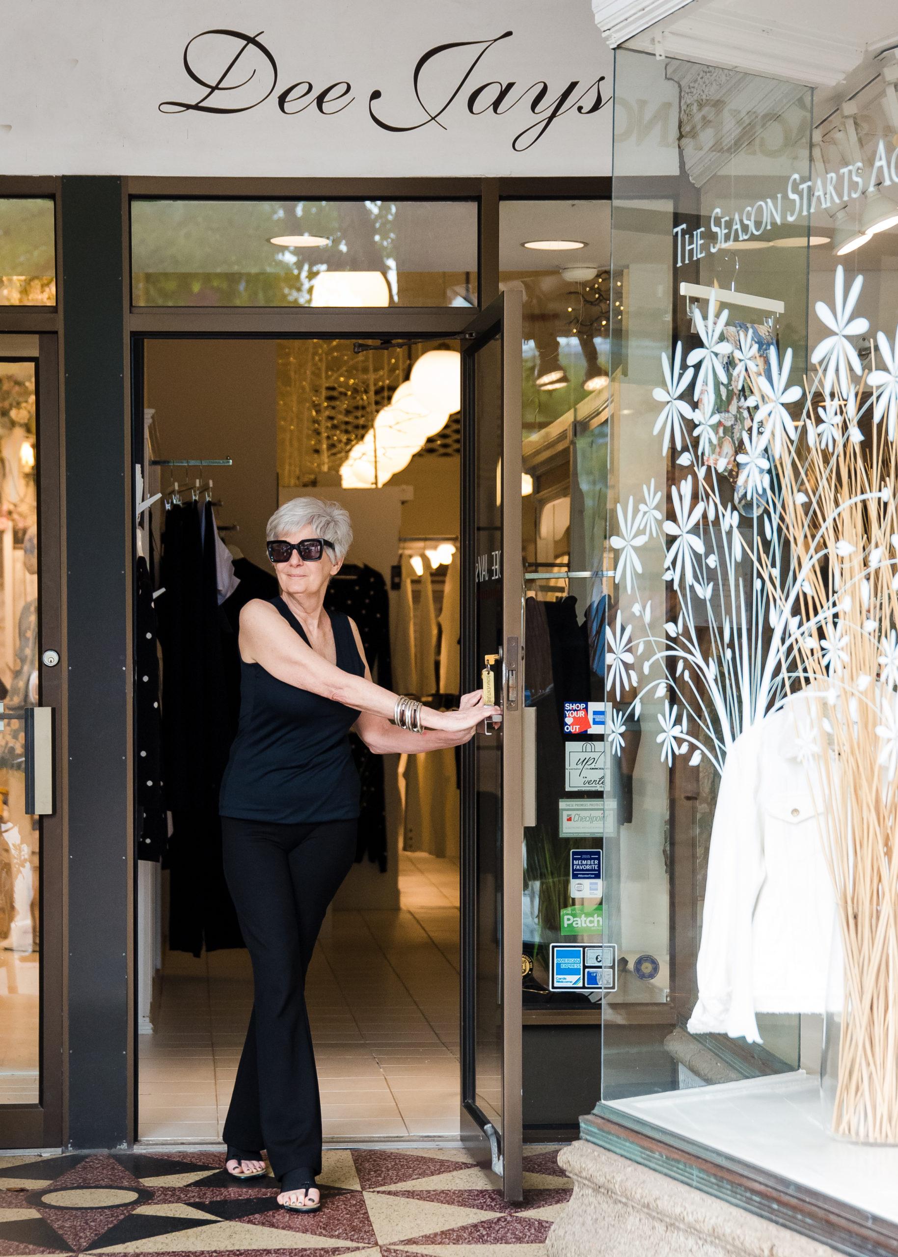 Deborah Ohana has built a loyal customer base in the more than 40 years that she's operated the Southampton Village clothing store, DeeJay's, on Main Street alongside her husband, Jack Ohana.