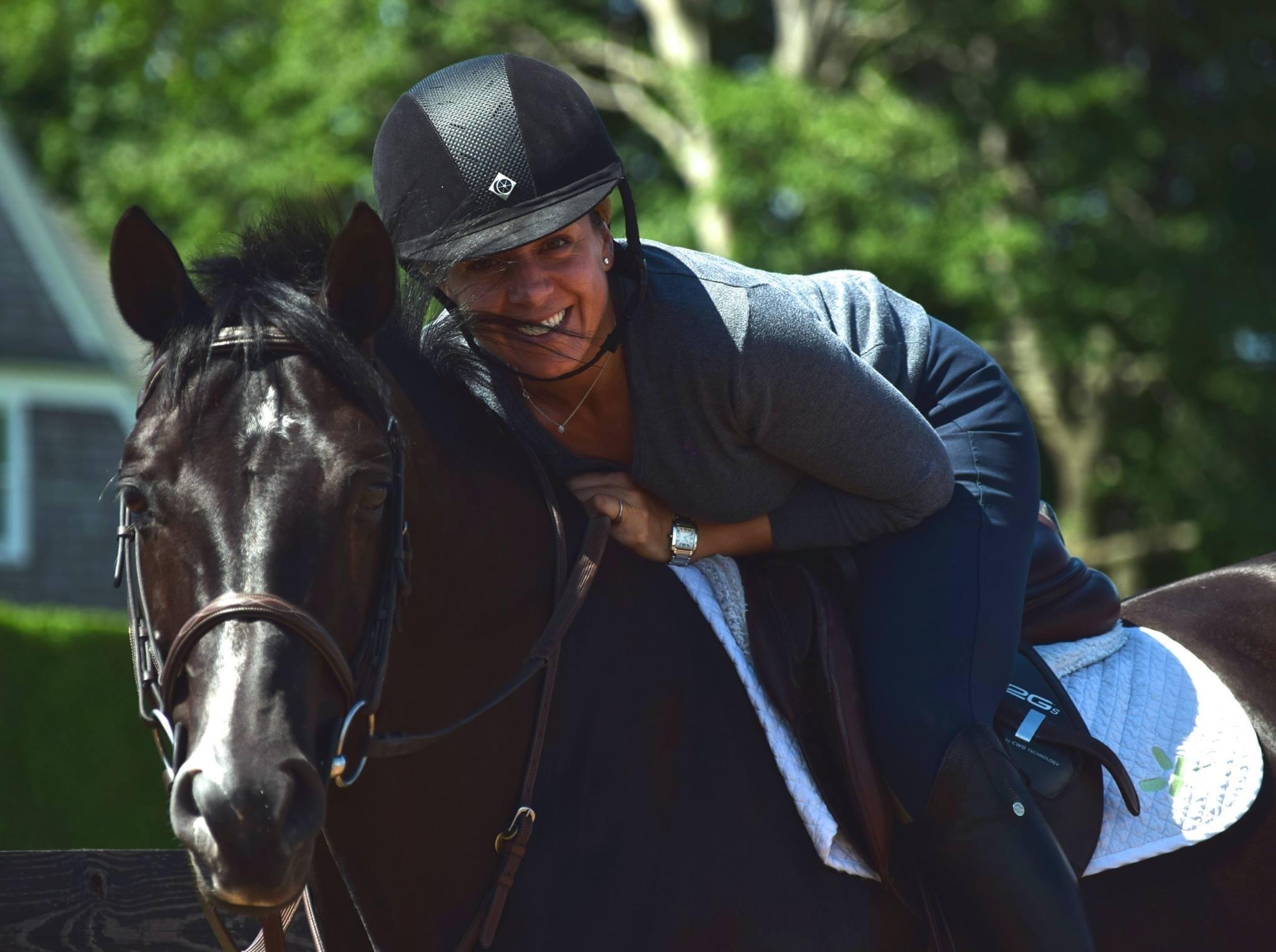 Dana Trotter calls her horse, Balou's Boy, a