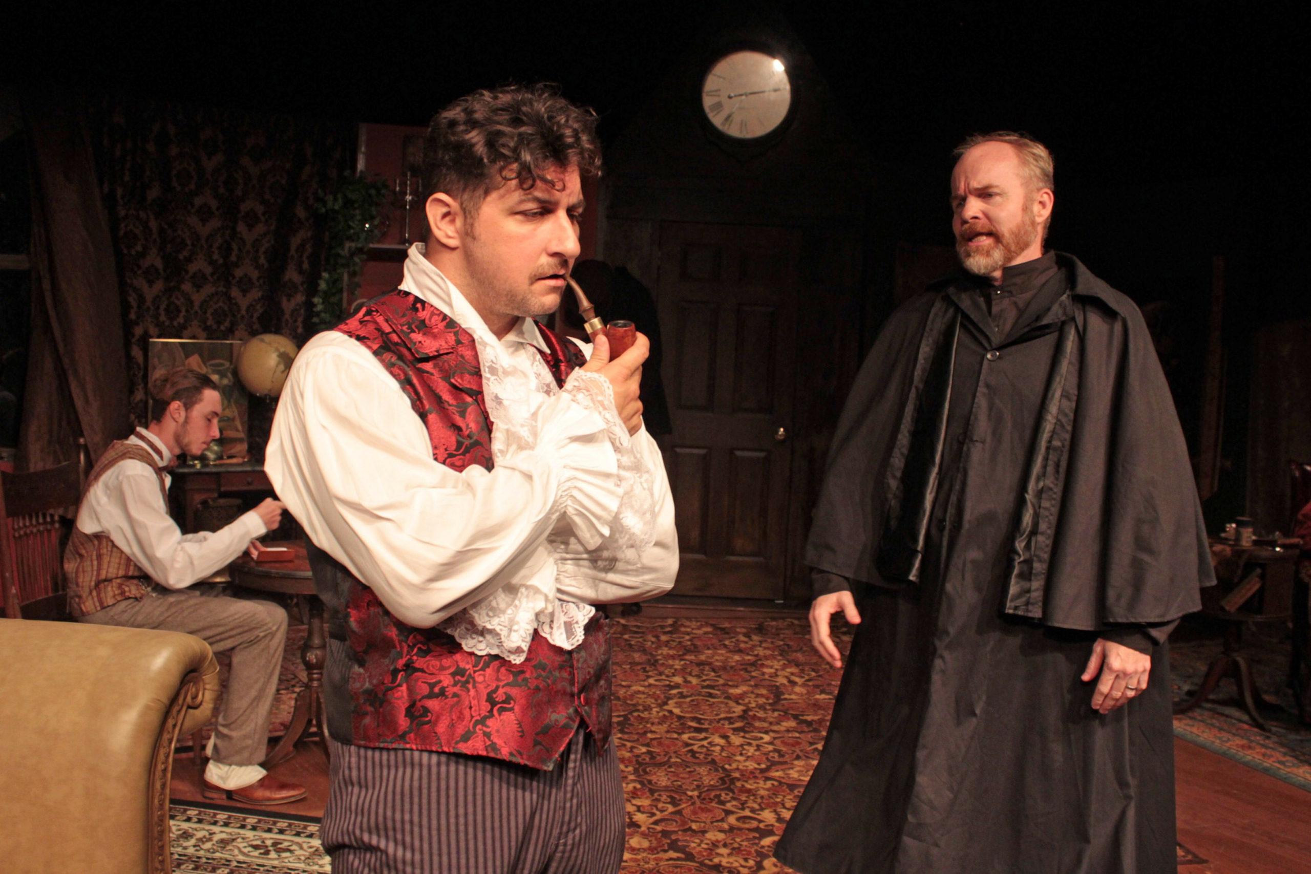 """Tom Rosante and Mark Heidemann in """"Sherlock's Secret Life"""" at SCC."""