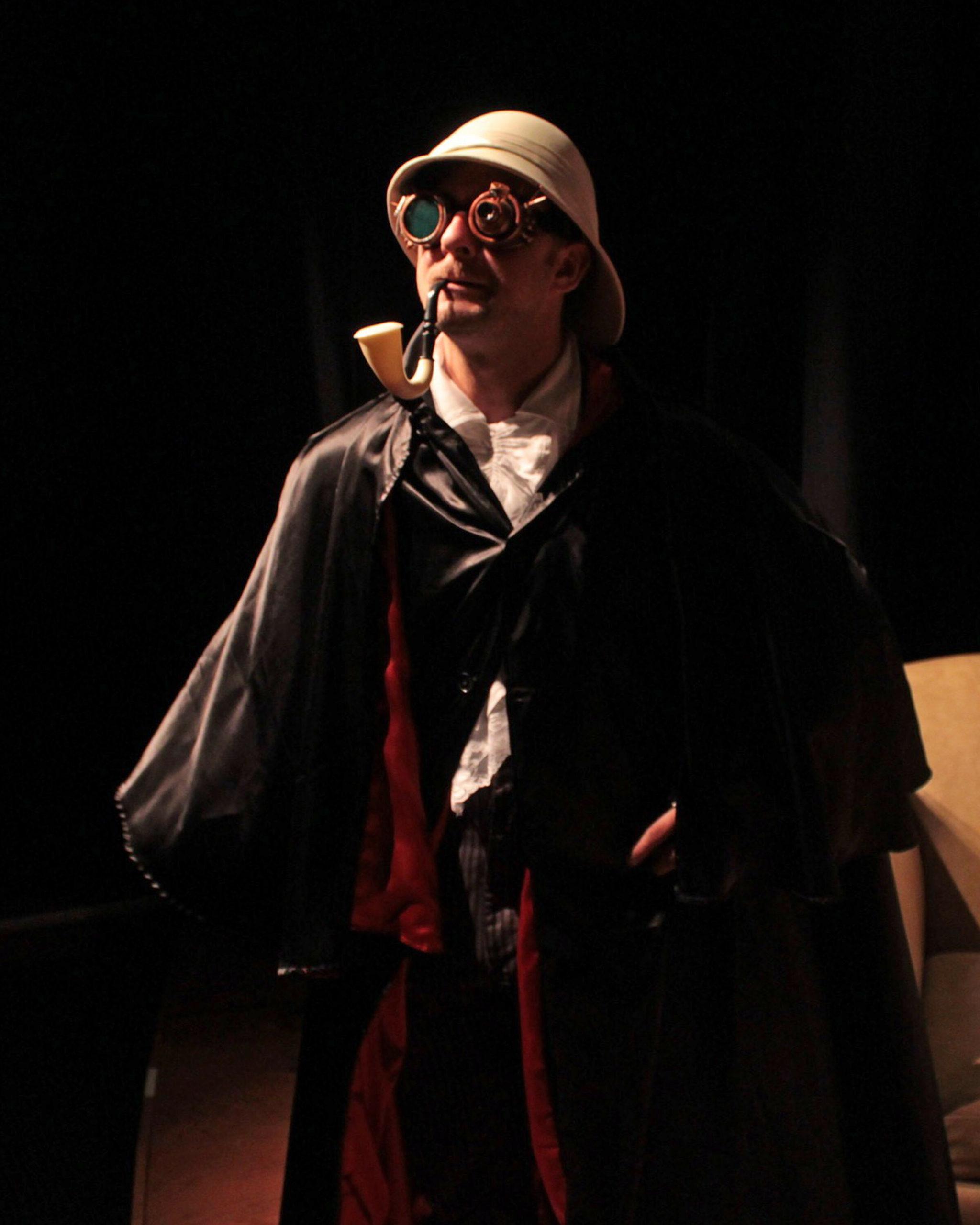 "Tom Rosante in ""Sherlock's Secret Life"" at SCC."