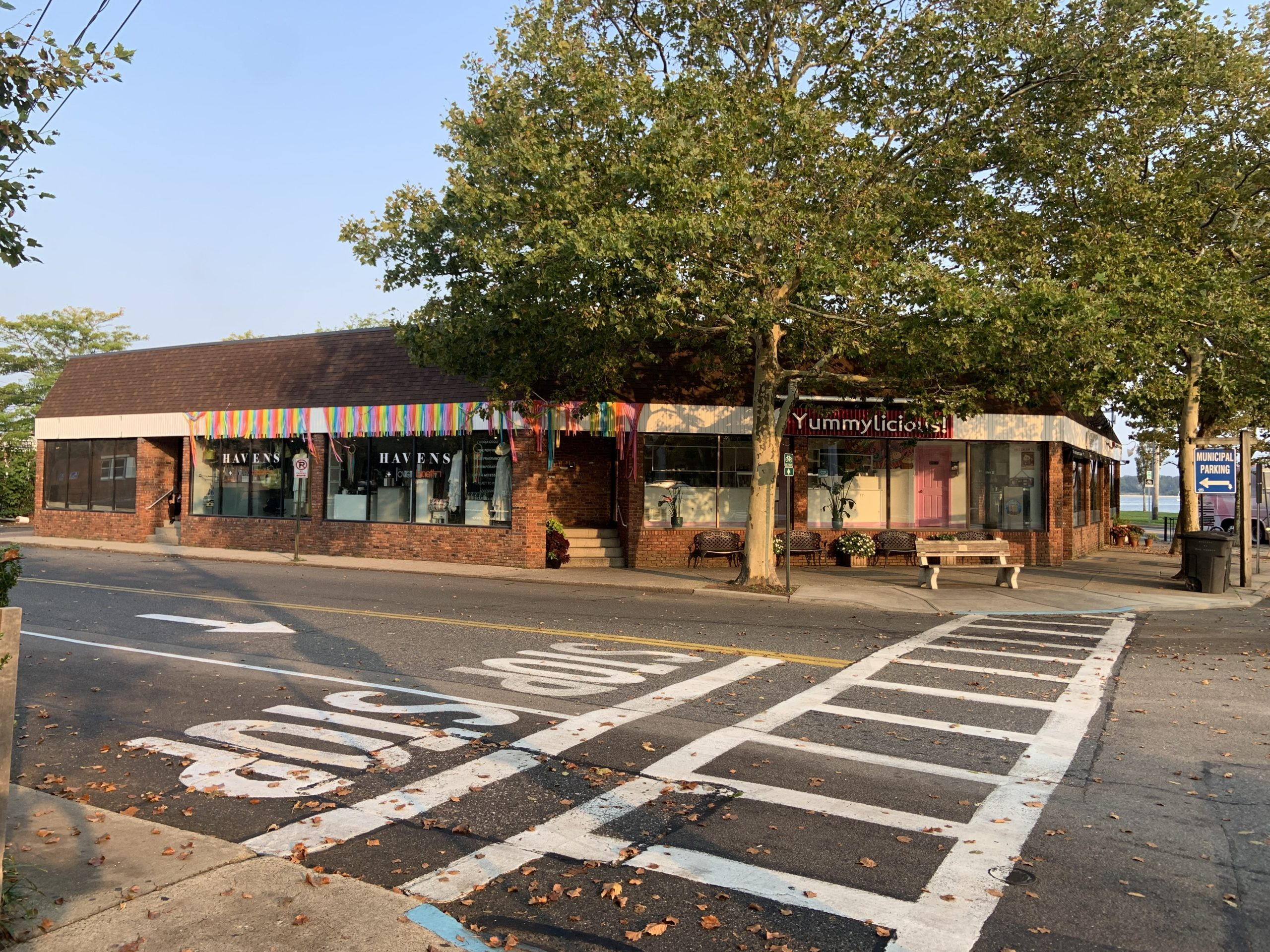 The commercial building at 2 Main Street in Sag Harbor has been sold to an investment group associated with the effort to build a new Bay Street Theater on the village waterfront. STEPHEN J. KOTZ