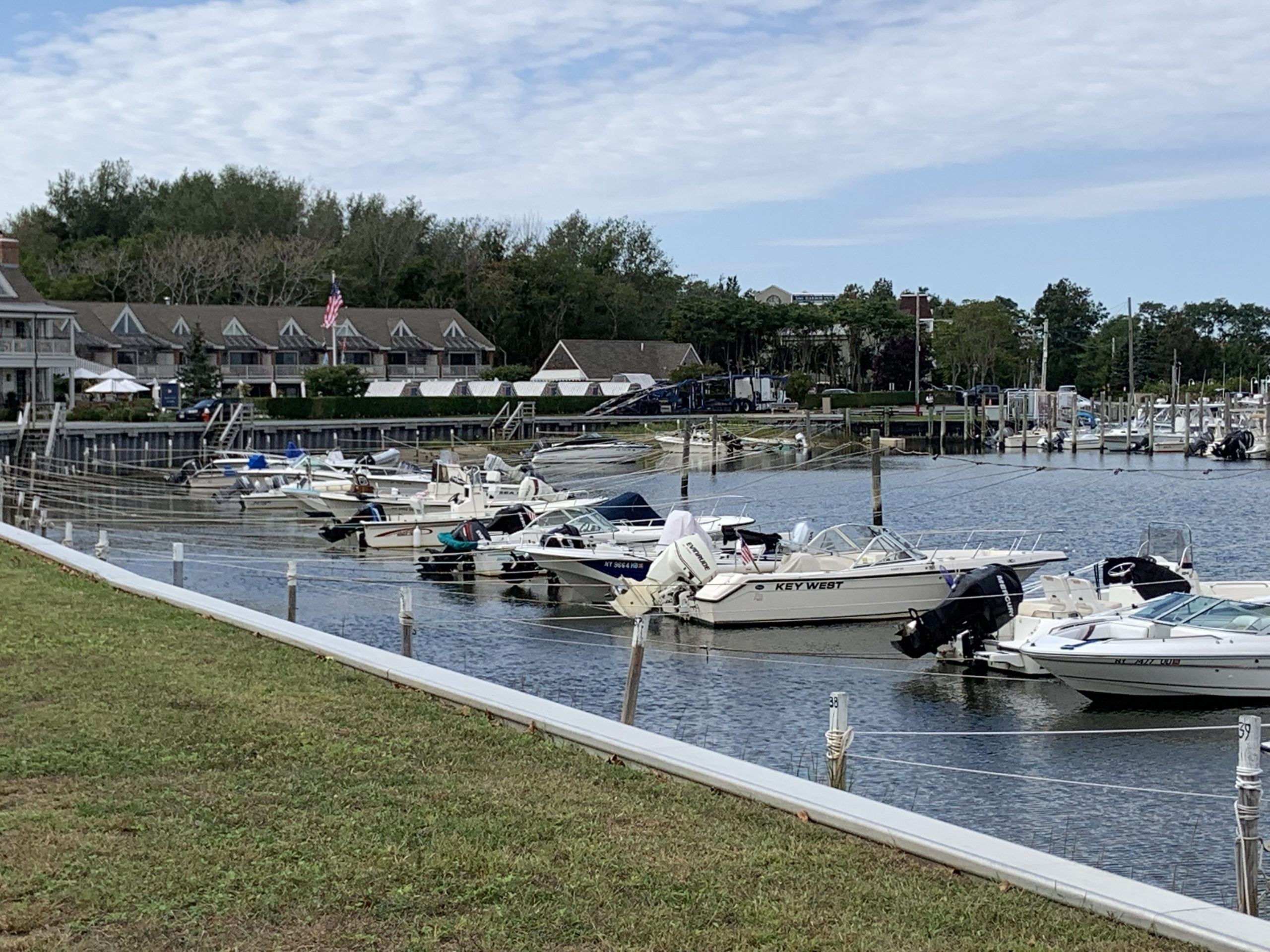 Sag Harbor Mayor Jim Larocca has proposed expanding the boundaries of the waterfront overlay district to include motels to the west and Cormaria to the east. STEPHEN J. KOTZ