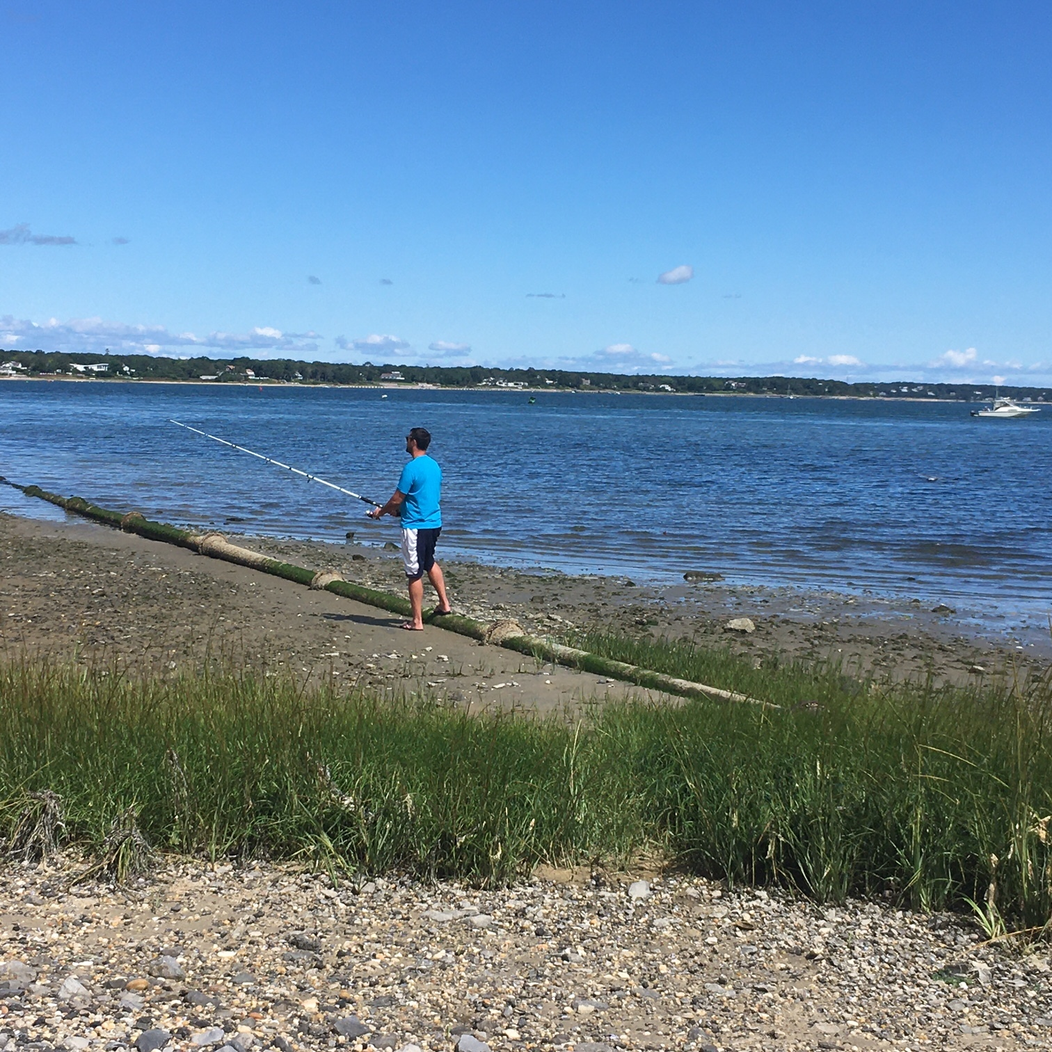 The Hampton Bays Water District pipe to Dune Road has broken twice , and will be replaced.