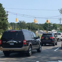 A reconfigured signal on Montauk Highway in Hampton Bays shows promise.