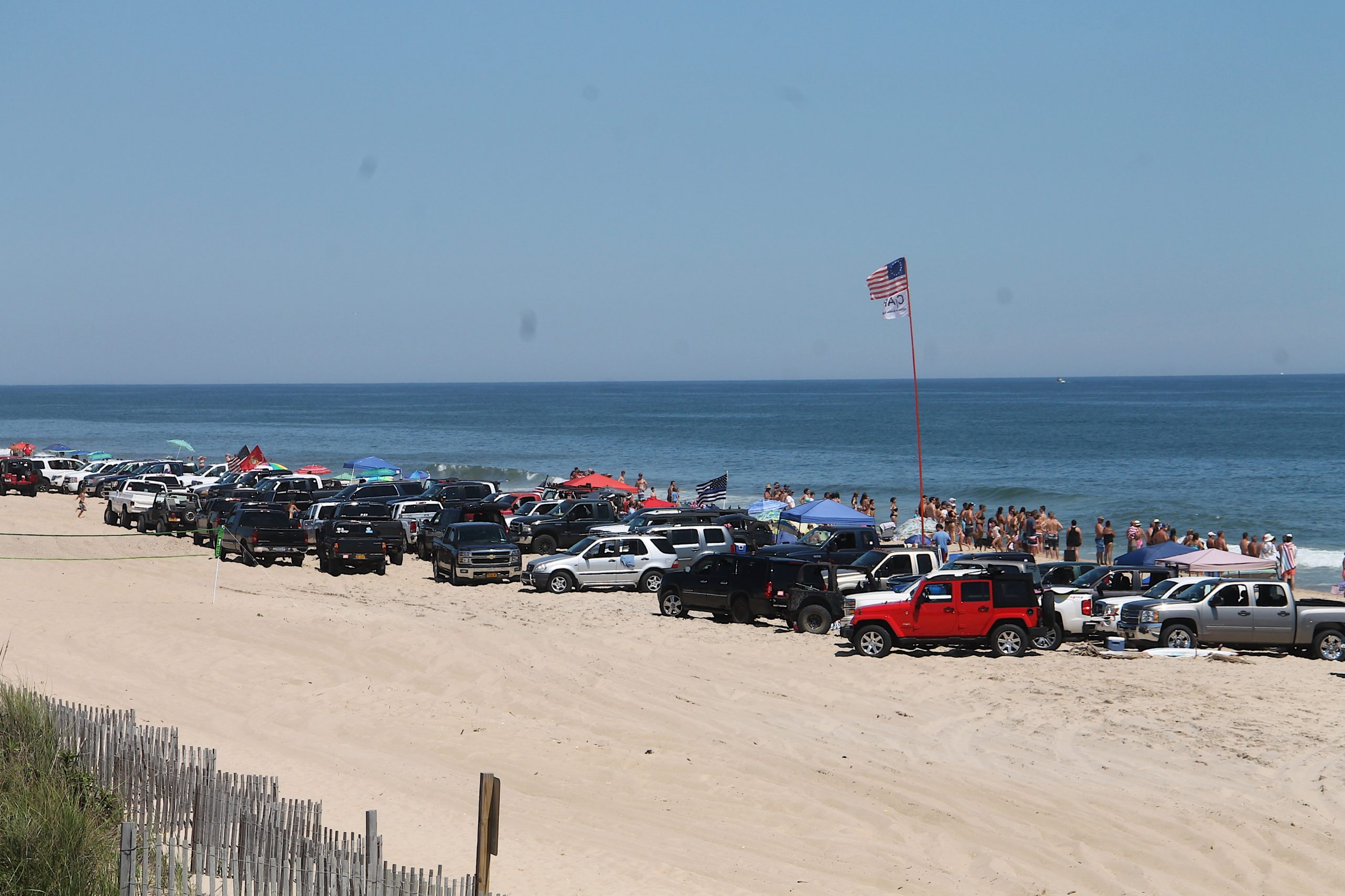 The beach in Amagansett long known as Truck Beach will be private for the foreseeable future after a court ruling ended the town's appeals this week.