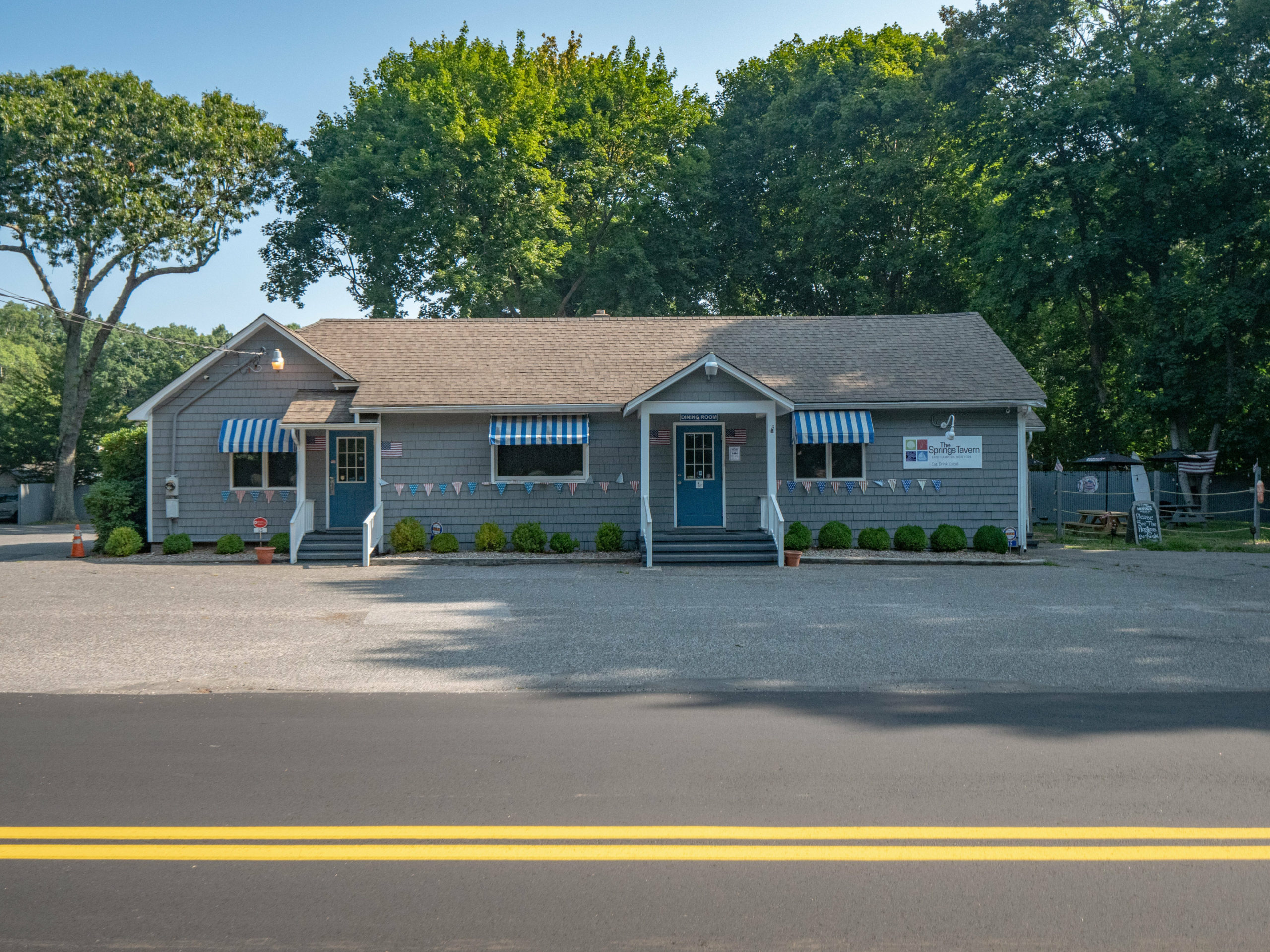 The Springs Tavern is on the market.