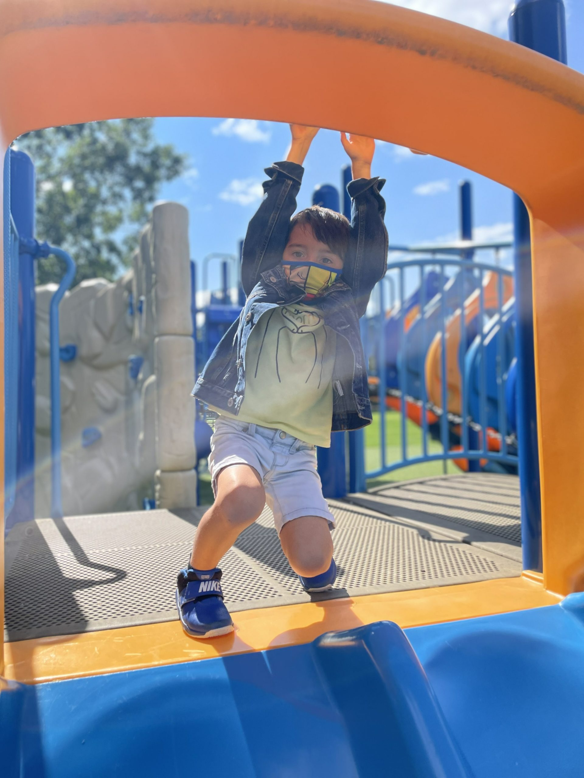 Students at East Quogue Elementary School are off to a great start, especially enjoying time outdoors for recess.