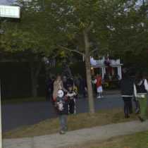 Trick-or-treating on Elm Street is on. EXPRESS FILE