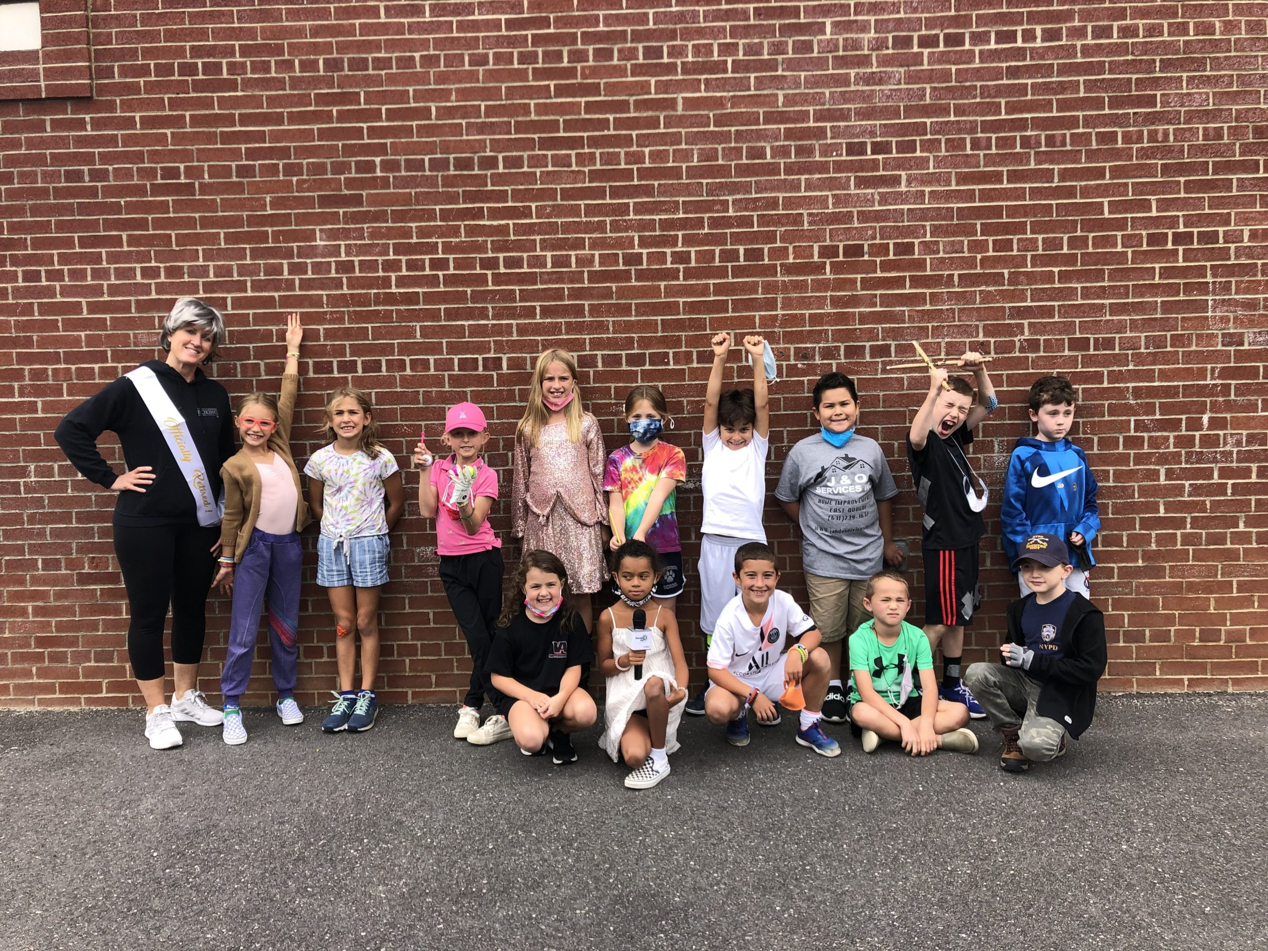 Students in Mrs. Squires's class at East Quogue School participated Wacky Wednesday last week, in which they took part in fun yet educational activities.