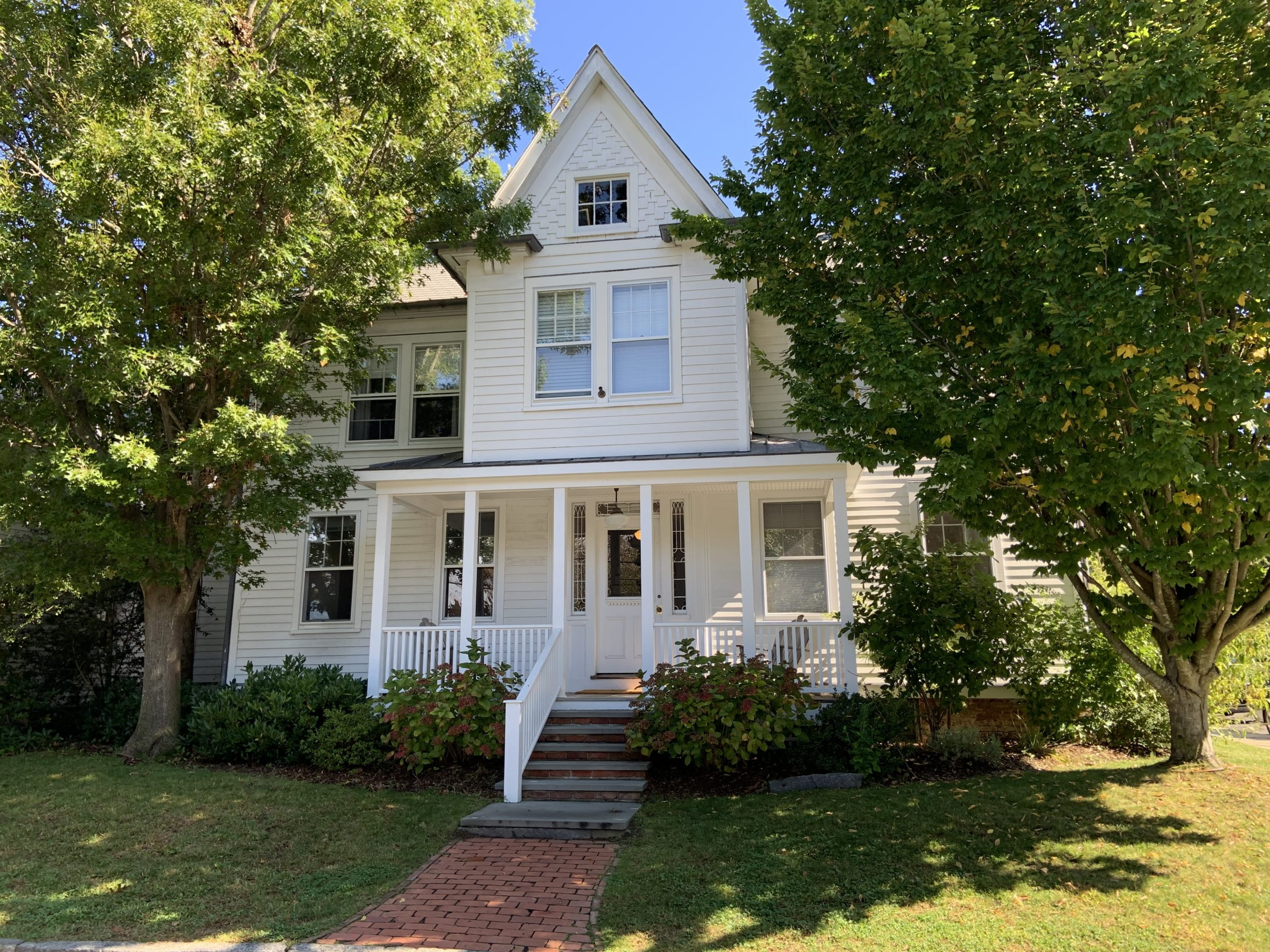 The Sag Harbor Cinema has purchased this house with six apartments at 11 Suffolk Street for employee housing. STEPHEN J. KOTZ