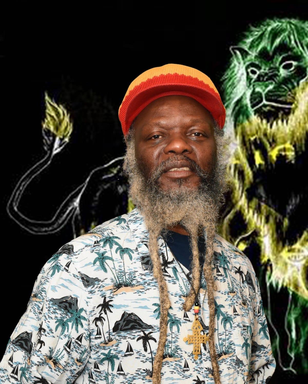 Reggae artist Winston Irie.