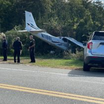 A small plane crashed on Saturday afternoon in East Quogue.