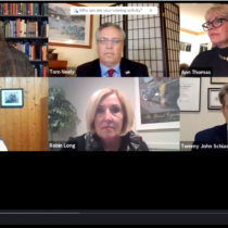 The Express News Group hosted a virtual debate of Southampton Town political candidates at 7 p.m. on Monday, October 18.