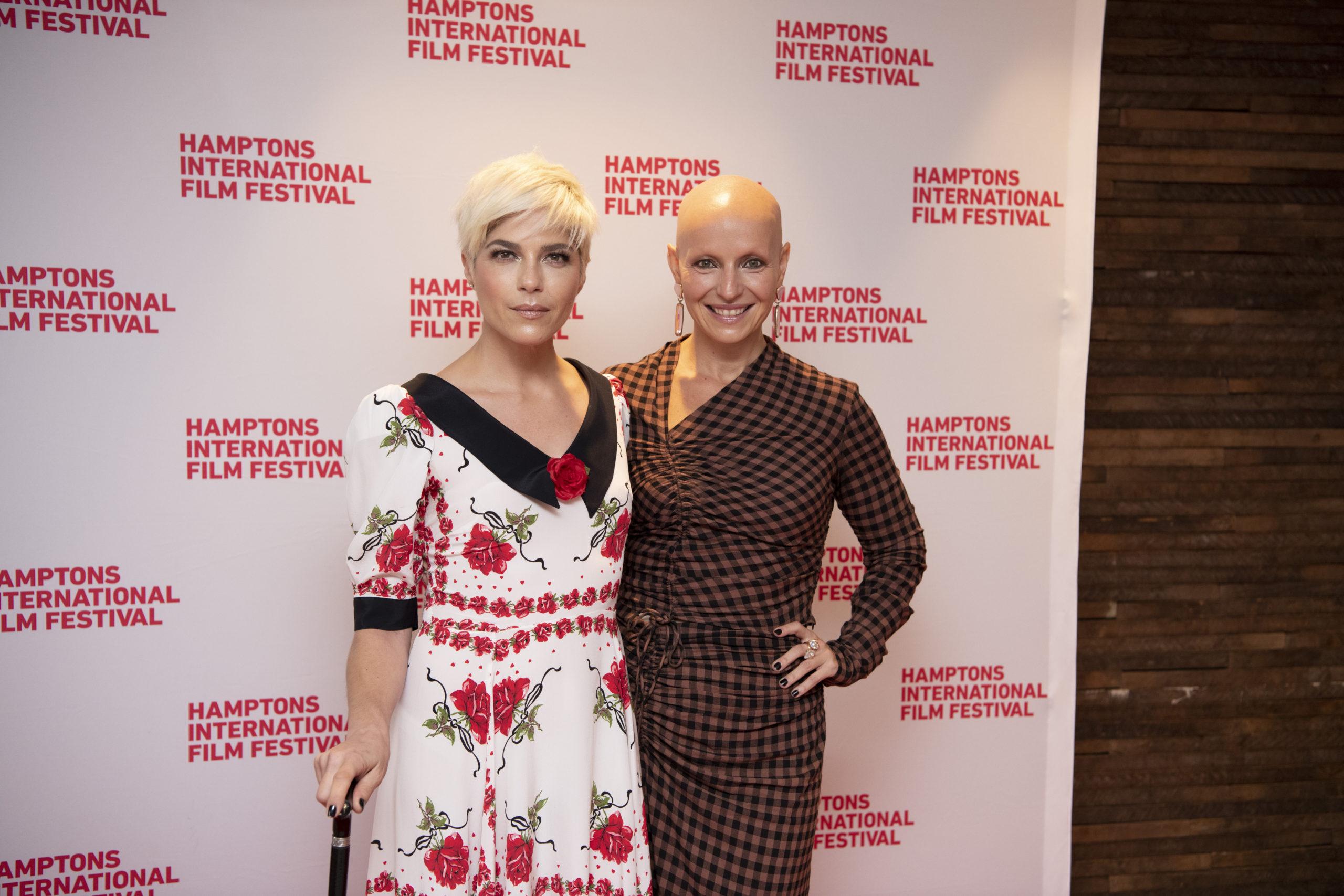 Selma Blair and Rachel Fleit.
