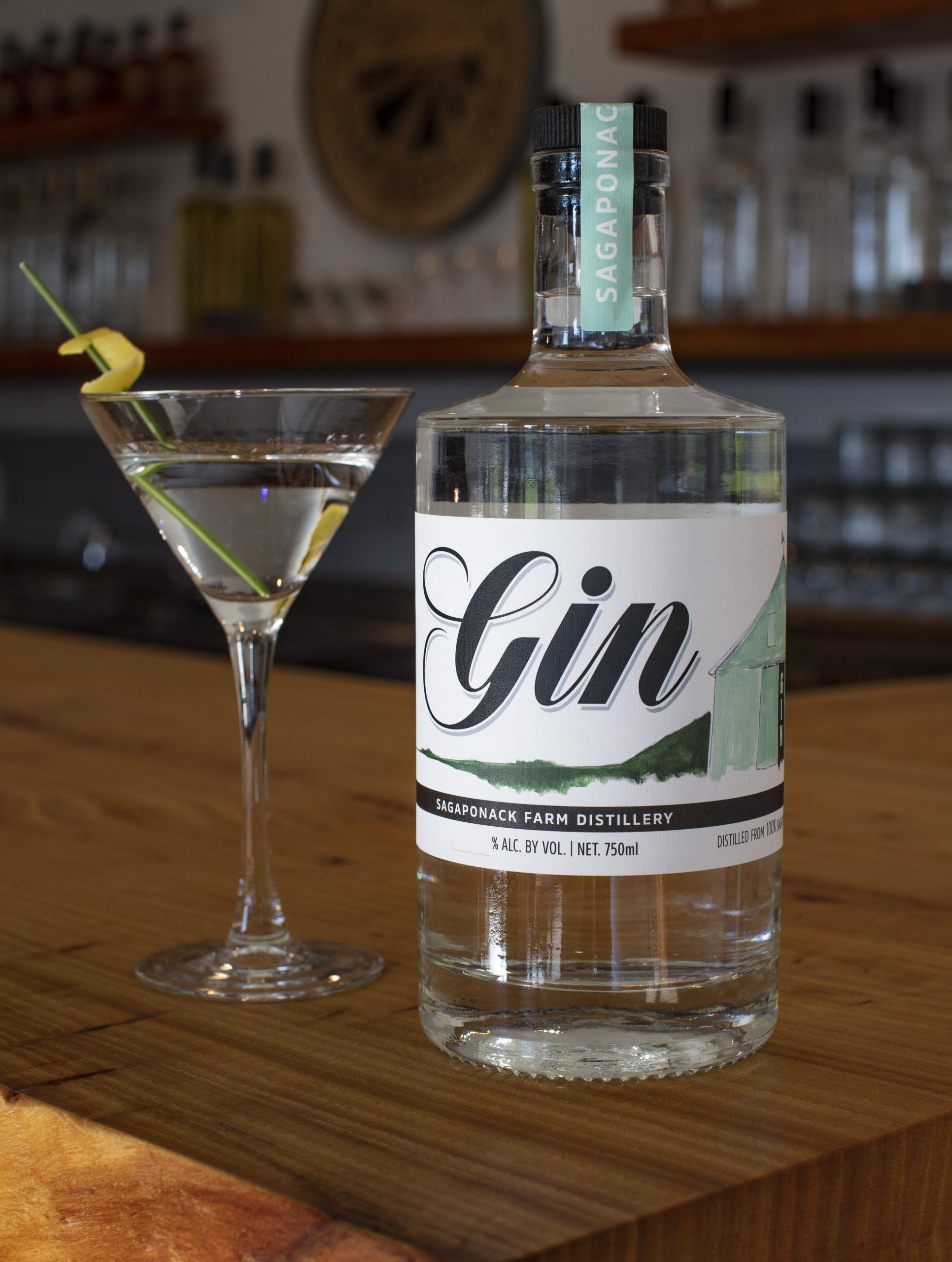 Sagaponack Farm Distillery American Gin.
