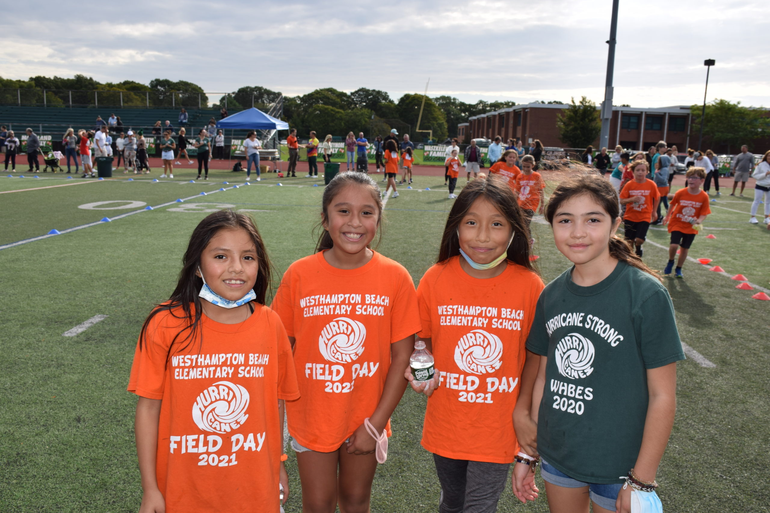 Westhampton Beach Elementary School students raised funds for school programs by participating in the annual Hurricane Fun Run on September 27.
