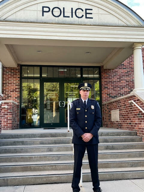 Steven J. McManus was appointed chief of police on Oct. 7 COURTESY MARIA MOORE