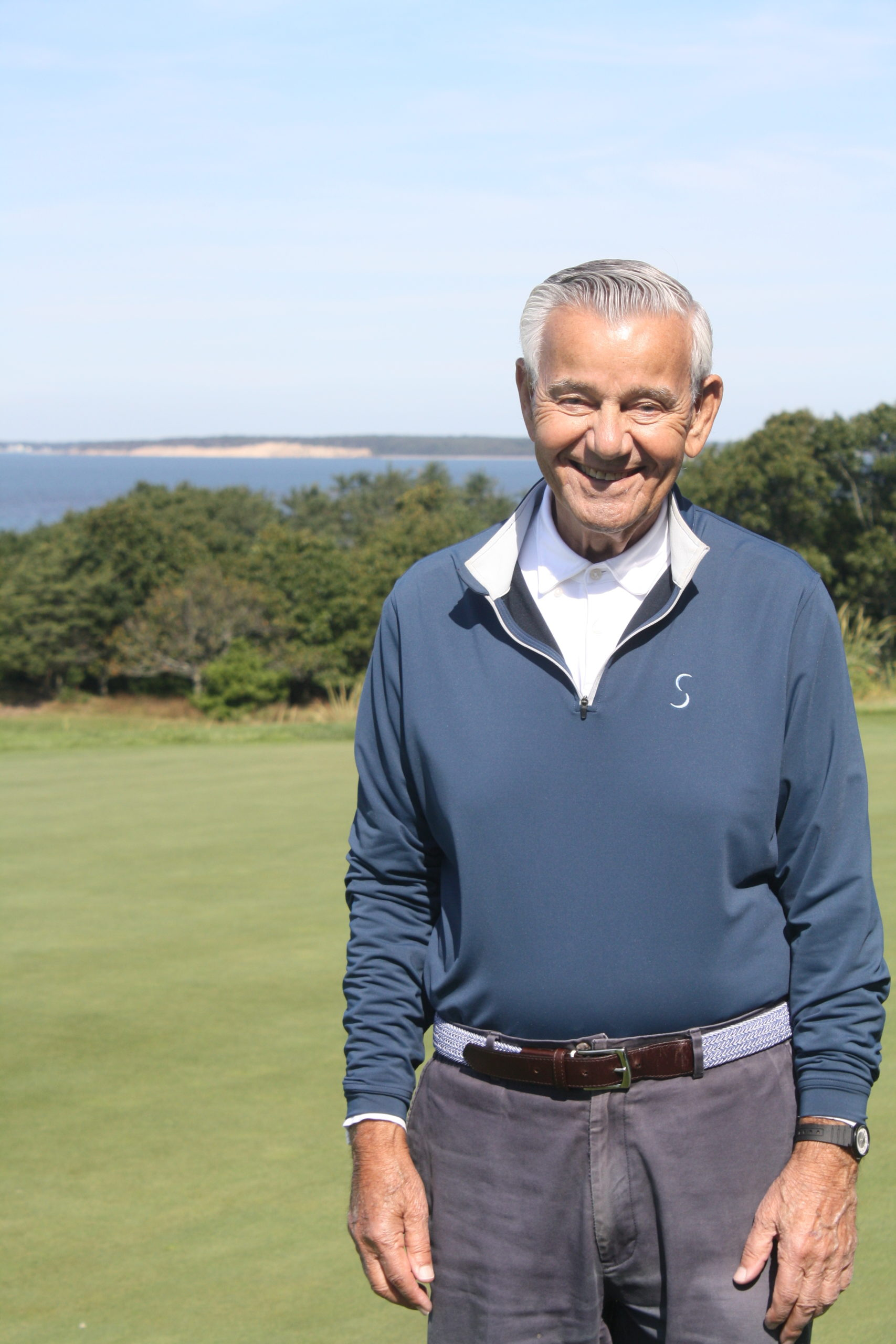 Sebonack Golf Club owner Michael Pascucci was chosen as  the Grand Marshal for the 77th annual Columbus Day Parade in New York City.